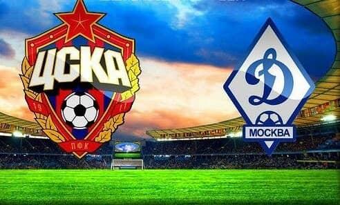 Матч ЦСКА — Динамо Москва