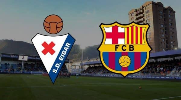 Матч Эйбар — Барселона