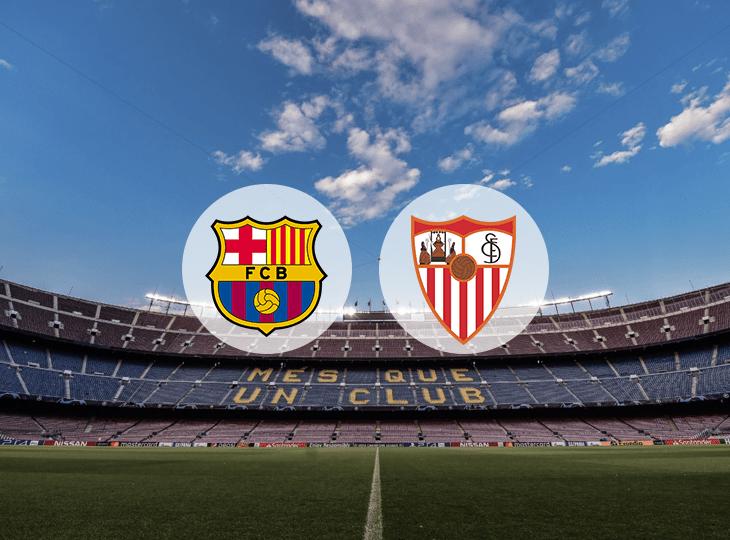 Матч Барселона — Севилья