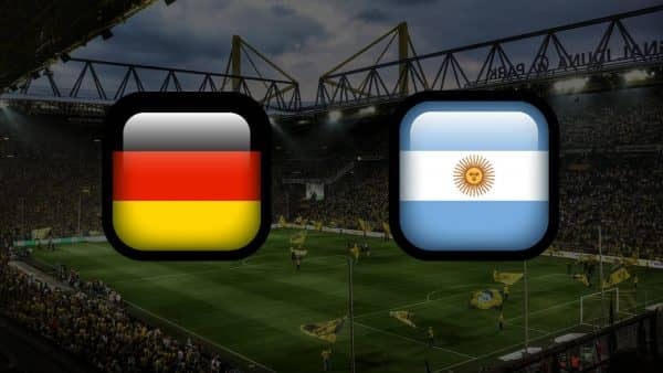 Матч Германия - Аргентина