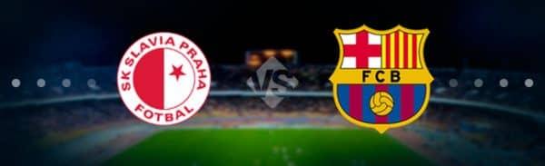 Матч Барселона — Славия