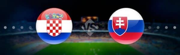 Матч Хорватия — Словакия