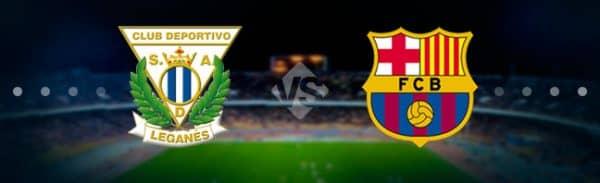 Матч Леганес — Барселона