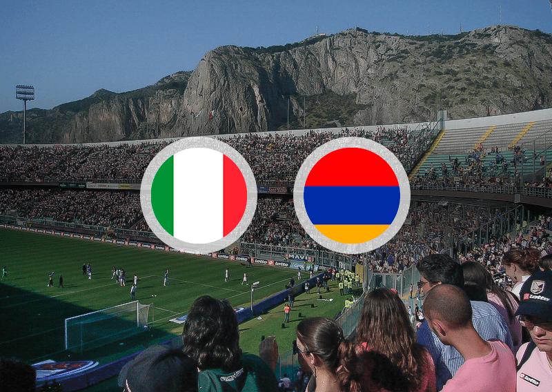 Матч Италия — Армения