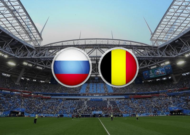 ставки футбол россия бельгия