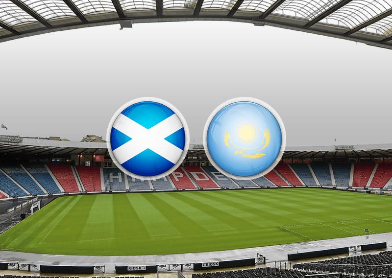 Матч Шотландия — Казахстан