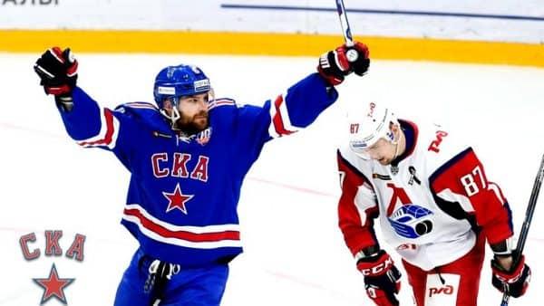 Матч СКА — Локомотив